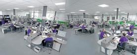 Pohled do vývojového centra společnosti ACTRONICS